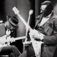 Albert King with Stevie Ray Vaughan