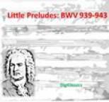 Bach - Bach: Little Preludes, BWV 939-943