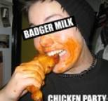 Badger Milk - Chicken Party