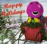 Barney - Happy Holidays, Love Barney