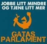 Gatas Parlament - Jobbe litt mindre og tjene litt mer