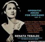 Renata Tebaldi - Operatic Arias For Soprano Volume 2